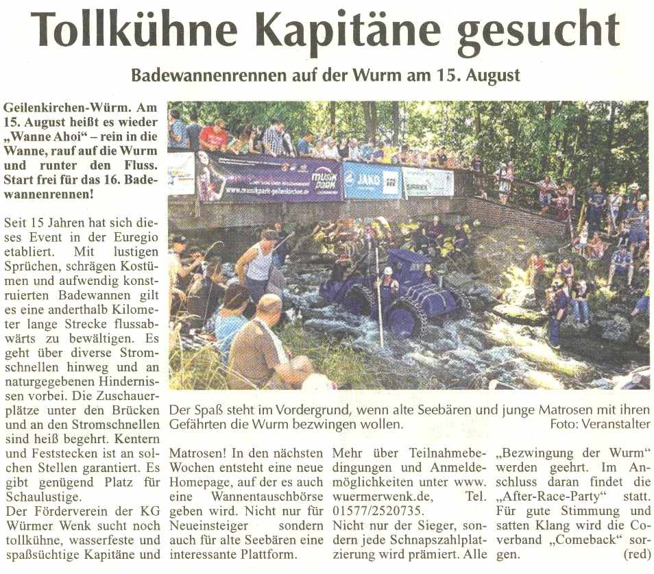 Bericht SuperSonntag vom 17.05.201505