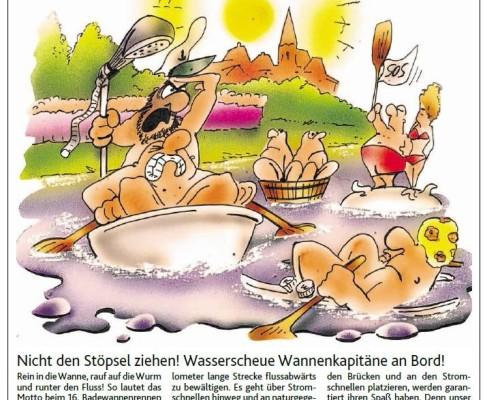 Karikatur in Aachener Zeitung vom 25.07.2015